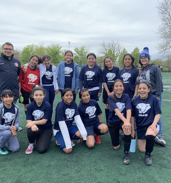 Cover photo of the Girls Soccer, 2019 album